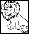 How to Draw Cartoon Lions