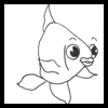 How to Draw Cartoon Fish