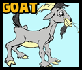How to Draw Cartoon Billy Goats