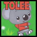 How to Draw Tolee Koala Bear from Kailan