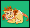Big Cats! Lion Crafts Activity for Kids