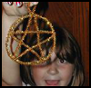 Pipecleaner Pentacles : Make a Pentacle Ornament