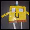 Spongebob Mosaic Arts and Crafts Project for Kids