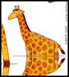 Giraffe Toy Printable Paper Craft