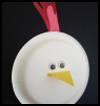 Paper Plate Rooster Craft for Children