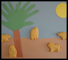 Safari Collage Crafts Project for Preschoolers