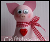 Cute Clay Pot Pig Crafts Project for Kids