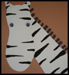 Zebra Collage Arts and Crafts Project for Preschoolers and Kindergarteners