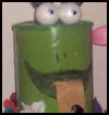 Froggy Bank Arts and Crafts Idea for Kids