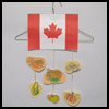 Canadian   Thanksgiving Mobiles  : Preschool Thanksgiving Crafts Ideas