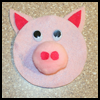 This Little Piggy CD Craft