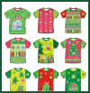 Christmas      T-shirt Sorting and Mmatching Game
