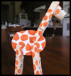 Clothes Pin Giraffe Crafts