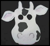 Cool Cow Mask Arts and Crafts Activity for Children