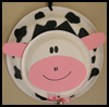 Cow Door Hanger Craft for Kids