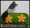 Felt   Glasses Cases  : How to Decorate Eyeglasses Cases Instructions for Children