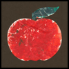 Stained    Glass School Apple Craft
