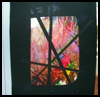 Melted    crayon stained glass effect   : Melted Crayons Crafts for Kids
