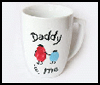 Dad & Me Coffee Mugs : Crafts with Coffee Mugs