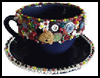 Bead and Button Teacups : Crafts with Coffee Mugs