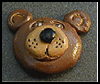 Salt   Dough Bear Magnets  : Crafts Activities with Salt for Children