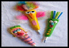 Salt   Dough Buddy Pens  : Crafts Activities with Salt for Children