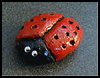 Salt   Dough Ladybugs  : Crafts Activities with Salt for Children