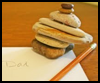 <B>Stacking   Rocks  : Crafts Activities with Rocks, Stones, Pebbles</B>