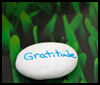 Rock Art: Creating a Gratitude Stone : Arts and Crafts Projects with Rocks