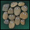 Pet Rock Paper Weights : Stones and Pebbles Crafts Ideas for Children