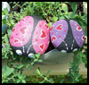 How to Paint Designs on Rocks : Stones and Pebbles Crafts Ideas for Children