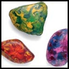 How to Create Colorful Wax Rocks