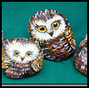 Rock Owl Paperweights : Crafts Activities with Rocks, Stones, Pebbles