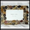 <B>Picture Frame of Stones Craft Project</B>