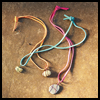 Rock Necklaces : Crafts Activities with Rocks, Stones, Pebbles