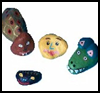 Painted Rocks : Stones and Pebbles Crafts Ideas for Children
