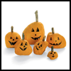 Stone-faced Pumpkins : Crafts Activities with Rocks, Stones, Pebbles