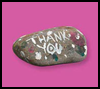 Tons of Thanks : Crafts Activities with Rocks, Stones, Pebbles