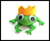 Frog Prince Rock Buddy : Rock Crafts for Kids