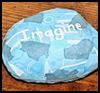 Decoupage Paperweights : Rock Crafts Ideas for Kids
