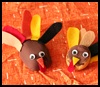 Turkey Pet Rocks : Crafts Activities with Rocks, Stones, Pebbles