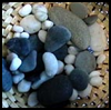 Oriental Table Warmers : Stones and Pebbles Crafts Ideas for Children
