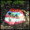 Painted Garden Stones : Stones and Pebbles Crafts Ideas for Children