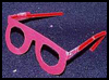 Colorful   Eyeglasses  : How to make Eye Glasses Crafts for Kids
