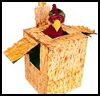 Chicken-in-a-Box Costume Craft for Children