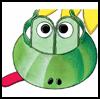 How to Make a Frog Visor Hat