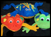 Frog Beanbags No Sewing Craft for Kids
