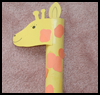 Giraffe Crafts Activity for Children