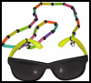 Beaded   Necklace Sunglasses Holders  : Hawaii Crafts for Kids