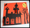 How to Draw Haunted Houses Arts and Crafts Projects